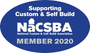 Member of NaCSBA - National Custom and Self Build Association
